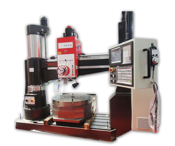 CNC Radial Drilling Machine with Rotary Table