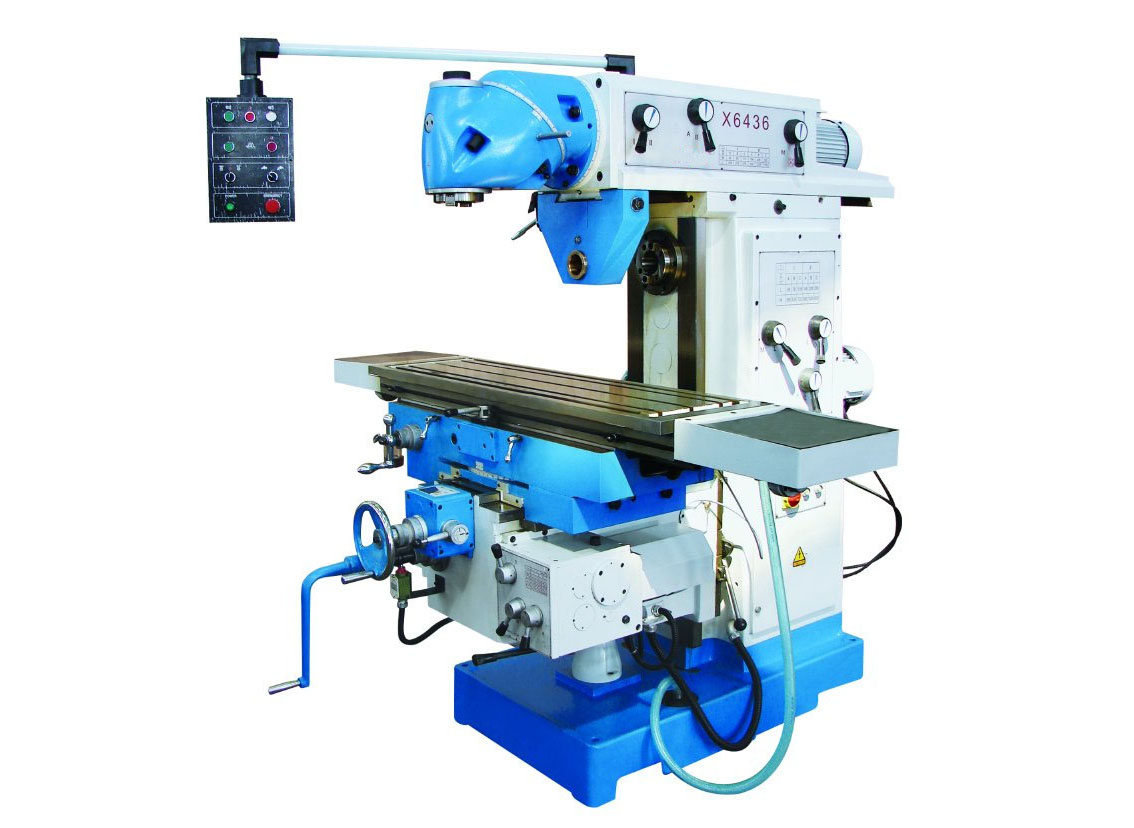 Universal Swivel Head Milling Machine