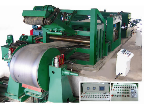 Uncoiling, Leveling, Cutting Line for Sheets of Medium Thicknes