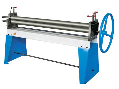 Manual 3-Roller Asymmetrical Plate Bending Machine